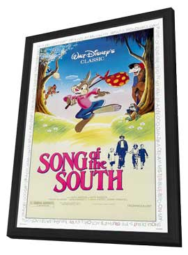 Song of the South - 11 x 17 Movie Poster - Style B - in Deluxe Wood Frame