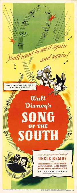Song of the South - 14 x 36 Movie Poster - Insert Style A