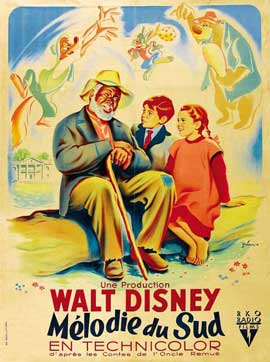 Song of the South - 27 x 40 Movie Poster - French Style A