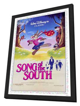 Song of the South - 27 x 40 Movie Poster - Style A - in Deluxe Wood Frame