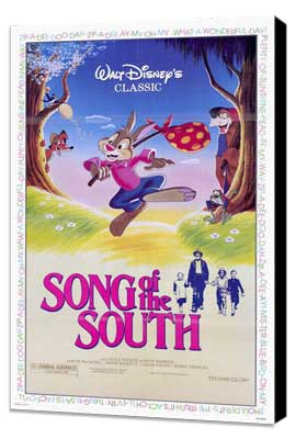 Song of the South - 27 x 40 Movie Poster - Style A - Museum Wrapped Canvas
