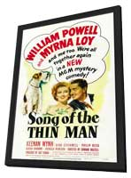 Song of the Thin Man - 11 x 17 Movie Poster - Style A - in Deluxe Wood Frame