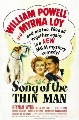 Song of the Thin Man - 27 x 40 Movie Poster - Style A