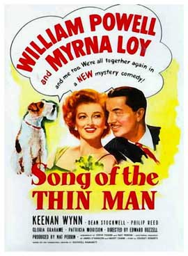 Song of the Thin Man - 11 x 17 Movie Poster - Style B