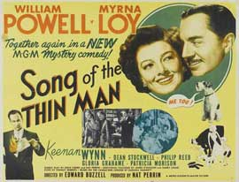 Song of the Thin Man - 22 x 28 Movie Poster - Half Sheet Style A