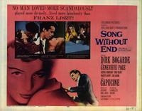 Song Without End - 11 x 14 Movie Poster - Style A