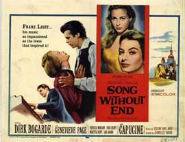 Song Without End - 11 x 14 Movie Poster - Style B