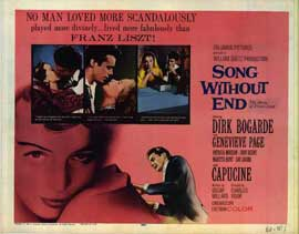 Song Without End - 22 x 28 Movie Poster - Half Sheet Style A