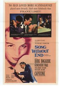 Song Without End - 27 x 40 Movie Poster - Style A