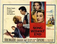 Song Without End - 22 x 28 Movie Poster - Half Sheet Style B