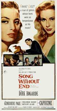 Song Without End - 20 x 40 Movie Poster - Style A