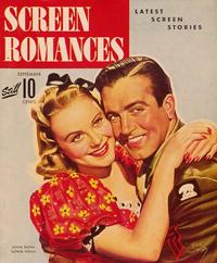 Sonja Henie - 11 x 17 Screen Romances Magazine Cover 1940's Style A