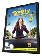 Sonny with a Chance (TV) - 27 x 40 TV Poster - Style A - in Deluxe Wood Frame