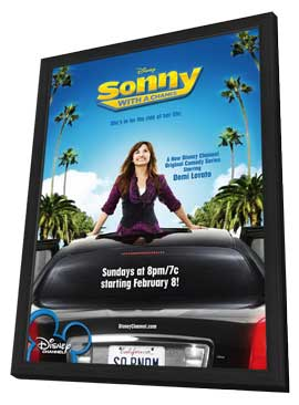 Sonny with a Chance (TV) - 11 x 17 Movie Poster - Style A - in Deluxe Wood Frame