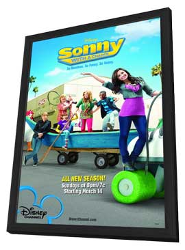 Sonny with a Chance (TV) - 11 x 17 TV Poster - Style E - in Deluxe Wood Frame