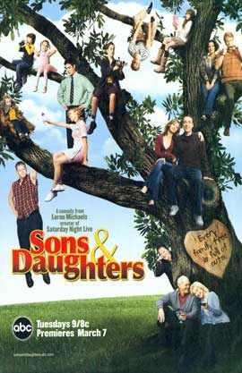 Sons & Daughters - 11 x 17 TV Poster - Style A