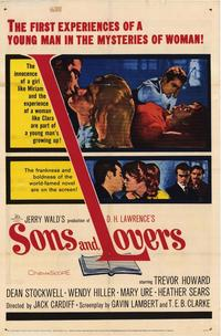 Sons and Lovers - 27 x 40 Movie Poster - Style A