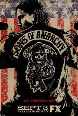 Sons of Anarchy - 27 x 40 TV Poster - Style A