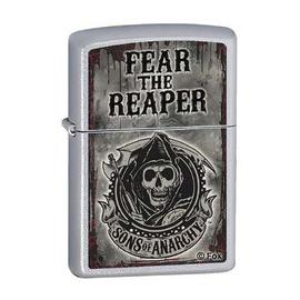 Sons of Anarchy - Fear the Reaper Satin Chrome Zippo Lighter