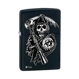 Sons of Anarchy - The Reaper Black Matte Zippo Lighter