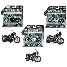 Sons of Anarchy - 1:18 Scale Die-Cast Motorcycle Vehicle Set