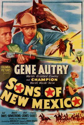 Sons of New Mexico - 27 x 40 Movie Poster - Style A