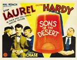 Sons of the Desert - 30 x 40 Movie Poster - Style A