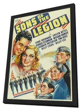 Sons of the Legion - 11 x 17 Movie Poster - Style A - in Deluxe Wood Frame