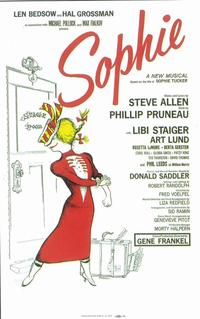 Sophie (Broadway) - 11 x 17 Poster - Style A