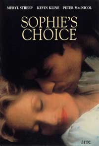 Sophie's Choice - 11 x 17 Movie Poster - Style B