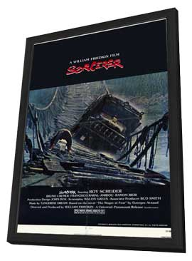 Sorcerer - 11 x 17 Movie Poster - Style A - in Deluxe Wood Frame