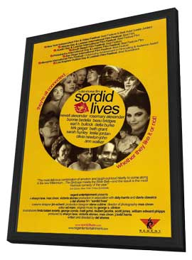 Sordid Lives - 11 x 17 Movie Poster - Style A - in Deluxe Wood Frame
