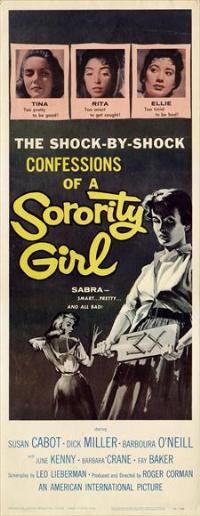 Sorority Girl - 14 x 36 Movie Poster - Insert Style B