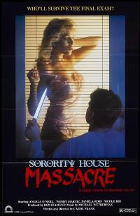 Sorority House Massacre - 11 x 17 Movie Poster - Style A