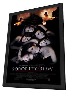 Sorority Row - 11 x 17 Movie Poster - Style B - in Deluxe Wood Frame