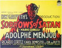 The Sorrows of Satan - 11 x 14 Movie Poster - Style A