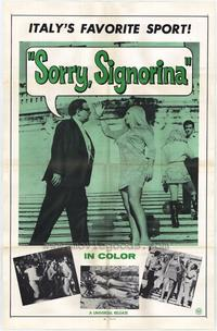 Sorry Signorina - 27 x 40 Movie Poster - Style A