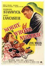 Sorry, Wrong Number - 27 x 40 Movie Poster - Style A
