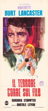 Sorry, Wrong Number - 27 x 40 Movie Poster - Italian Style A