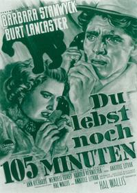 Sorry, Wrong Number - 11 x 17 Movie Poster - German Style B