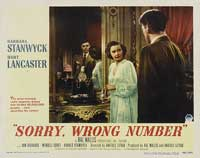 Sorry Wrong Number - 11 x 14 Movie Poster - Style B