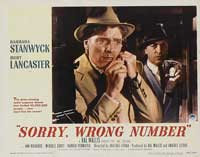 Sorry Wrong Number - 11 x 14 Movie Poster - Style E