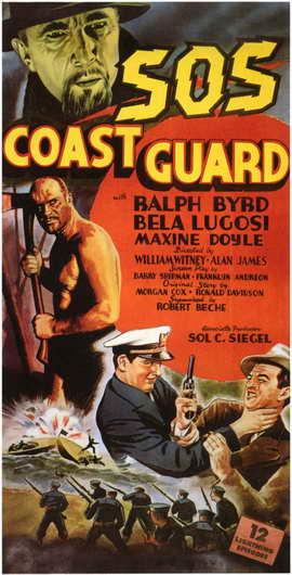 S.O.S. Coast Guard - 11 x 17 Movie Poster - Style A