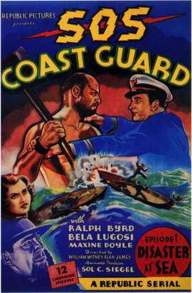 S.O.S. Coast Guard - 11 x 17 Movie Poster - Style B