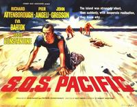 S.O.S. Pacific - 22 x 28 Movie Poster - Half Sheet Style A