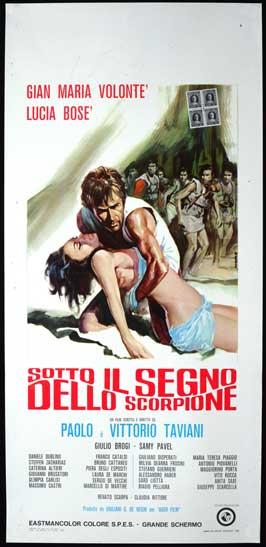 Sotto il segno dello scorpione - 13 x 28 Movie Poster - Italian Style A