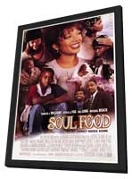 Soul Food - 27 x 40 Movie Poster - Style A - in Deluxe Wood Frame