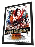Soul Kitchen - 27 x 40 Movie Poster - German Style A - in Deluxe Wood Frame