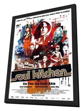 Soul Kitchen - 11 x 17 Movie Poster - German Style A - in Deluxe Wood Frame