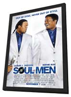 Soul Men - 27 x 40 Movie Poster - Style A - in Deluxe Wood Frame